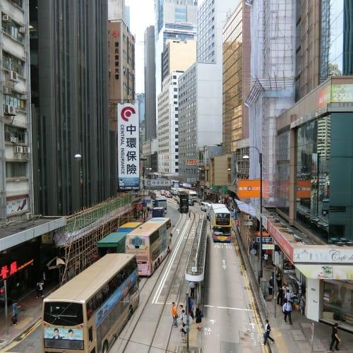帰りの香港で一枚 | 香港