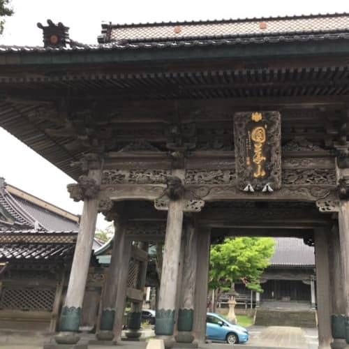 曹洞宗高龍寺の門。電停・函館ドック前から外人墓地に行く途中にあります。 | 函館