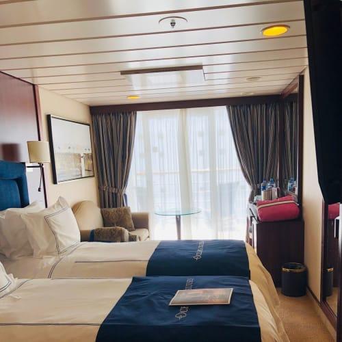 客船レガッタの客室