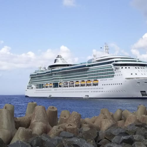 タリン停泊中のセレナーデ オブ ザ シーズ | タリンでの客船セレナーデ・オブ・ザ・シーズ