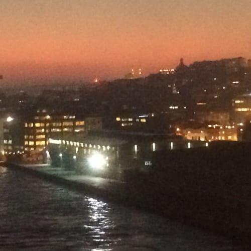 出航前のイスタンブールの夜景 | イスタンブール