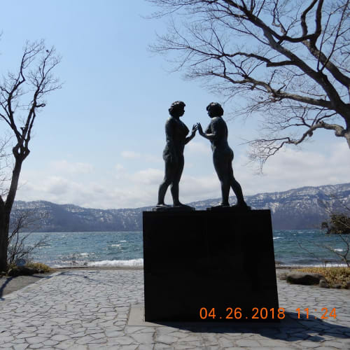 十和田湖・遊覧船は欠航だったので、十和田神社&乙女の像を見学。 | 青森