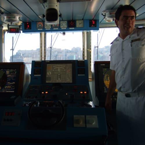 Day7#ブリッジツアー | 客船シーボーン・レジェンドのクルー、アクティビティ、船内施設