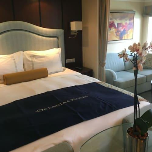 ペントハウススイートです。 | 客船リビエラの客室