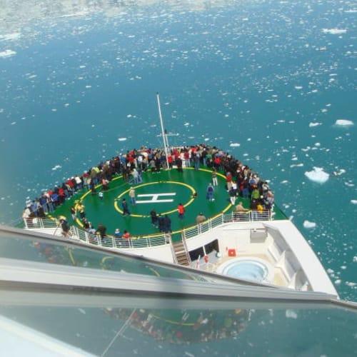 ハバード氷河 | ハバード・グレイシャー(アラスカ州)での客船セレブリティ・インフィニティ