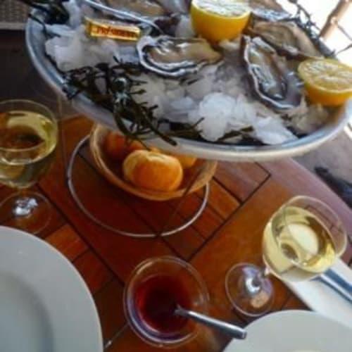 Rが付かない月でしたが、牡蠣を。 | 客船シルバー・クラウドのダイニング、フード&ドリンク