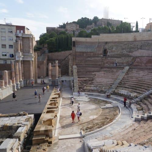 ローマ劇場遺跡(6ユーロ/人) | カルタヘナ