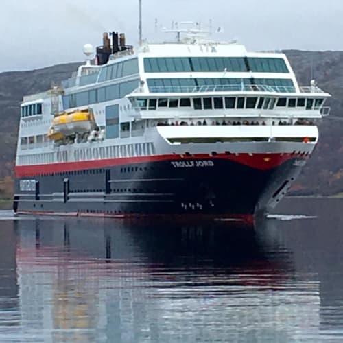 客船MSトロルフィヨルドの外観