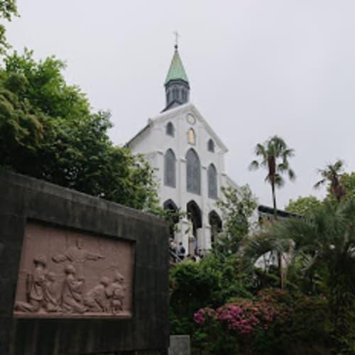 長崎の大浦天主堂   長崎