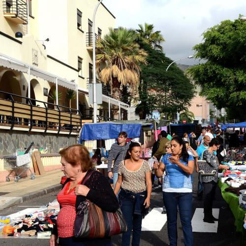 テネリフ島フリーマーケットの散策 | サンタ・クルス・デ・テネリフェ(テネリフェ島 / カナリア諸島)