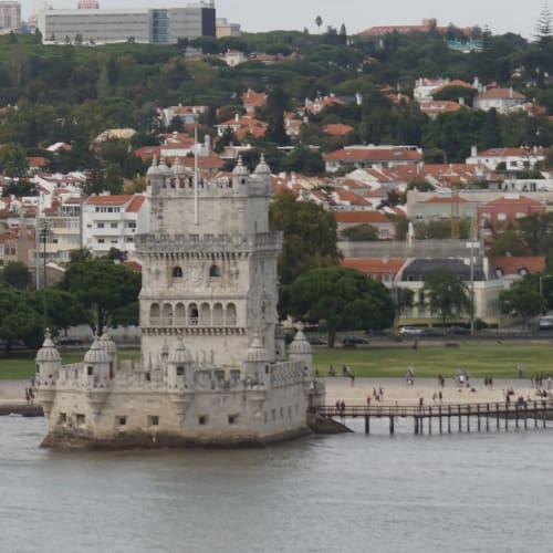 今回はいかなかったベレンの塔。 かつての大航海時代もこの景色を見ながら出港したのかなと思うと感慨深いです。 | リスボン