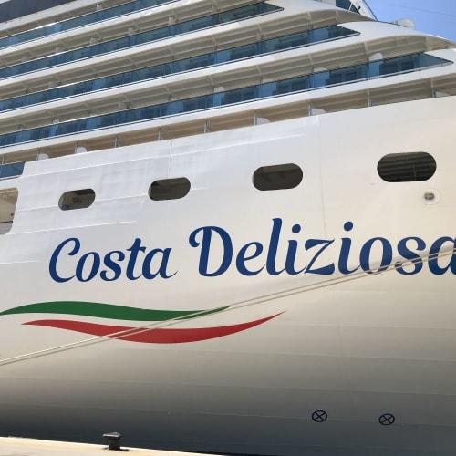 客船コスタ・デリチョーザの外観