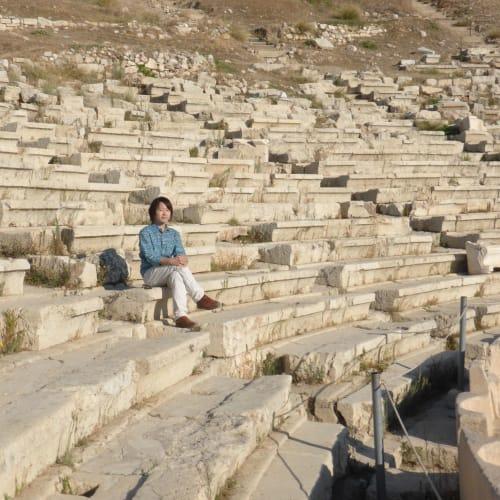 ピレウス(アテネ)での客船ルイス・オリンピア