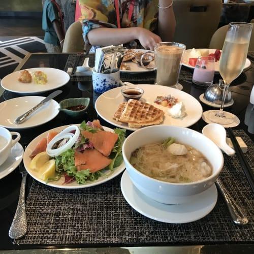 パレスレストランの朝食です アラカルトの注文&ブッフェでした とても美味しいです | 客船ゲンティン・ドリームのダイニング、ブッフェ、フード&ドリンク