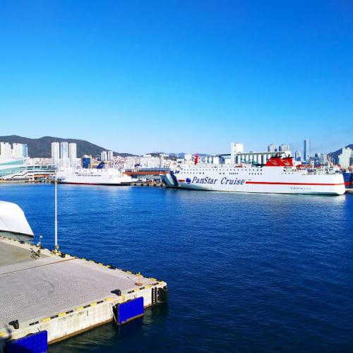 釜山です。 港には「A」が居ました。   釜山