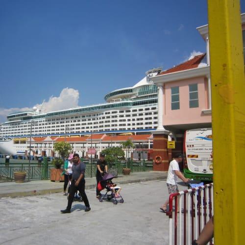 クルーズ船🚢 やっぱり、大きいですね❢ | ペナン島