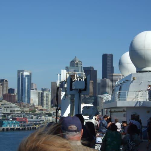 出港 シアトル | シアトル(ワシントン州)での客船セレブリティ・インフィニティ