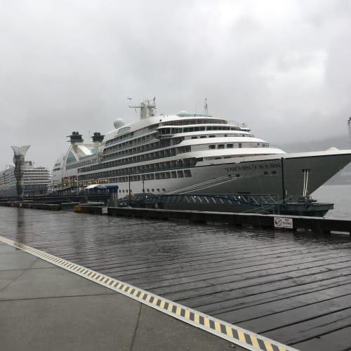 ジュノー | ジュノー(アラスカ州)での客船ウエステルダム