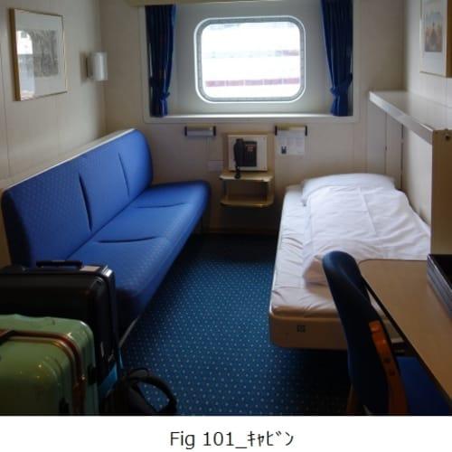 客船MSリカルド・ウィットの客室