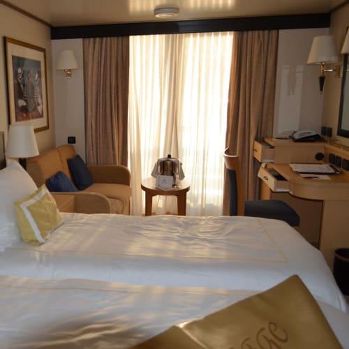 私たちの部屋。 | 客船クイーン・エリザベスの客室