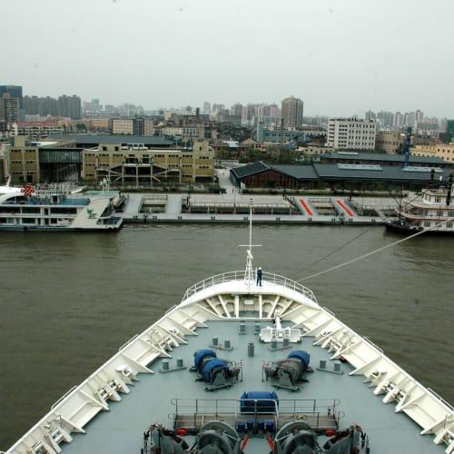 ターン中 | 上海での客船レジェンド・オブ・ザ・シーズ