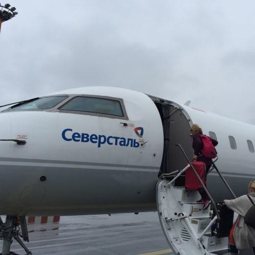 ヘルシンキからチャーター機でムルマンスクへ!   ヘルシンキ