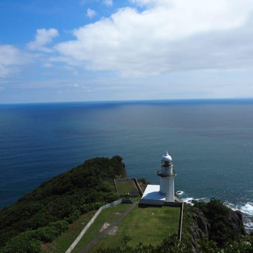 地球岬の展望台から太平洋を見る。 | 室蘭
