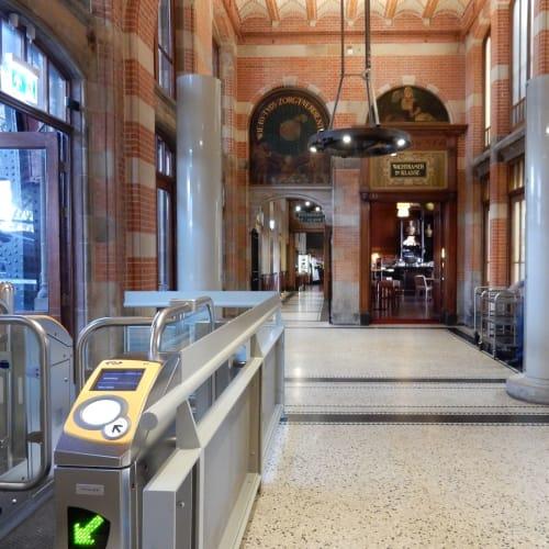 Day7#アムステルダム#中央駅#かつての待合所 | アムステルダム
