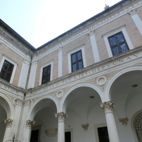 ドゥカーレ宮殿内のマルケ国立博物館に入場 | アンコーナ