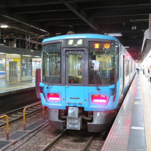 金沢は何度も観光しているのでIRいしかわ鉄道と あいの風とやま鉄道に乗って富山へ。 | 富山