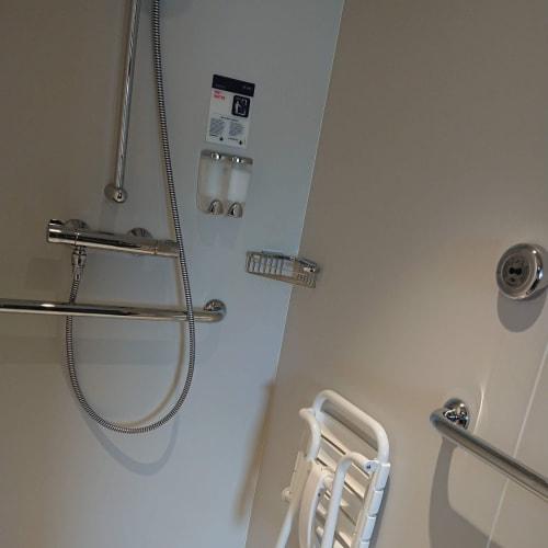キャビンNo.13108は車椅子対応でした。 | 客船MSCベリッシマの客室