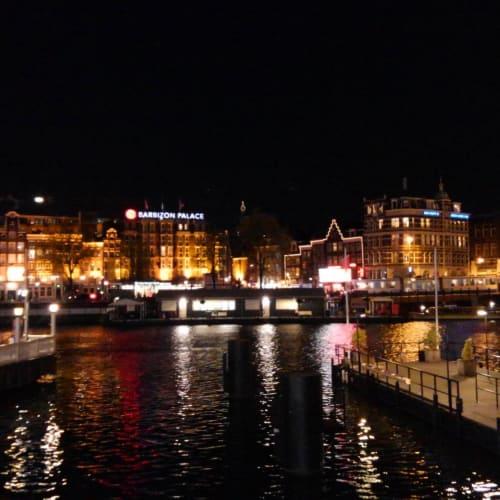 Day7#アムステルダム#夜の運河 | アムステルダム