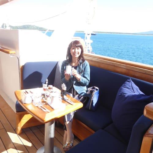 客船シードリーム1の乗客