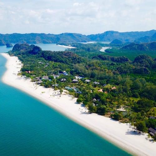 タンジュン・ルーをドローンで空撮 | ランカウイ島