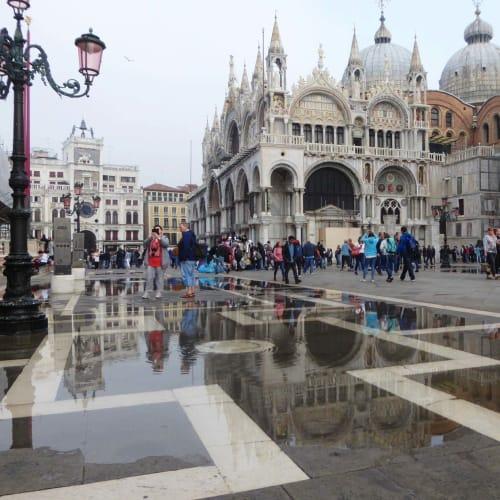 ベネチア秋冬の風物詩 アクア・アルタ | ヴェネツィア