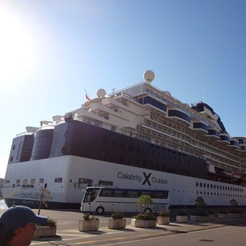 ドブロブニク  | ドゥブロヴニクでの客船セレブリティ・コンステレーション