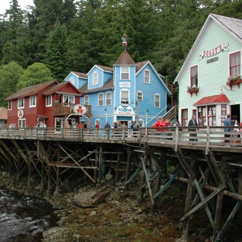 三日目:最初の寄港地ケチカンへ、古い街並みのクリーク通り散策 | ケチカン(レビジャヒヘド諸島 / アラスカ州)