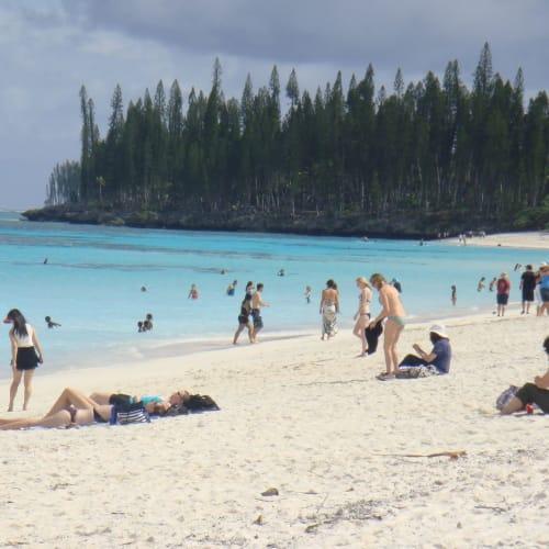 真っ青な海の色 | タディーヌ(マレ島)