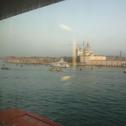 ベニス 入港 船室から | ヴェネツィア