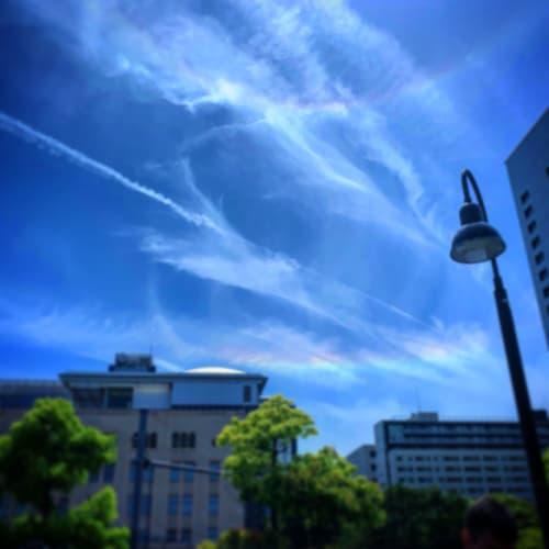 横浜ではダブルの虹が見れました! しかも雲は大きな大きなハート形♡ | 横浜