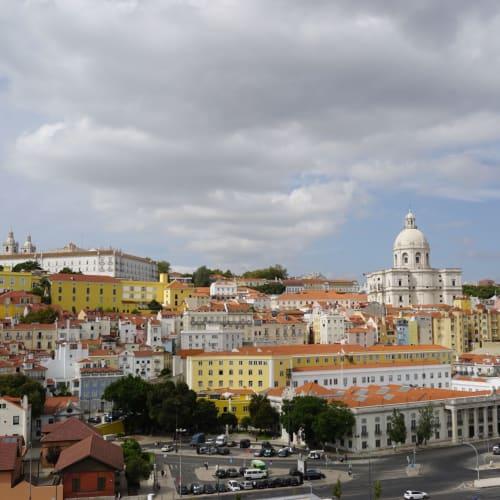 晴れ間が出て来たアルファマ地区。 16時出港は早すぎる! | リスボン