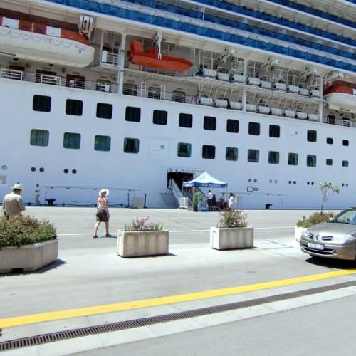 城塞都市 ドブロクニク 埠頭 | ドゥブロヴニクでの客船スター・プリンセス