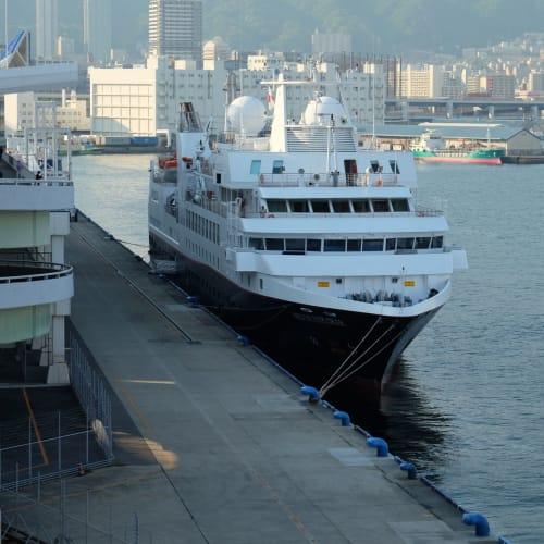 シルバー・エクスプローラーおしゃれでした。 | 神戸での客船シルバー・エクスプローラー