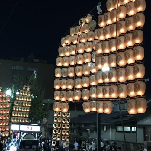 竿灯祭り最高! | 秋田