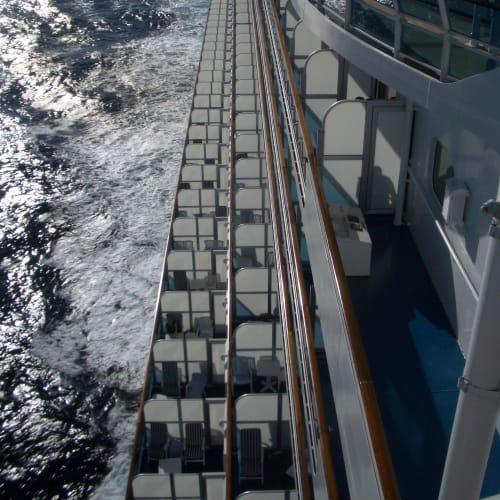 客船サファイア・プリンセスの外観