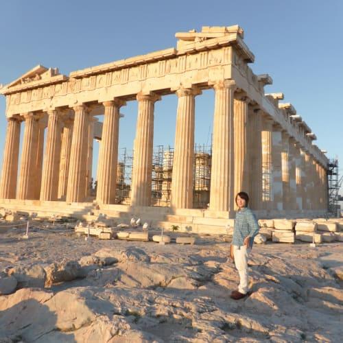 パルテノン | ピレウス(アテネ)での客船ルイス・オリンピア