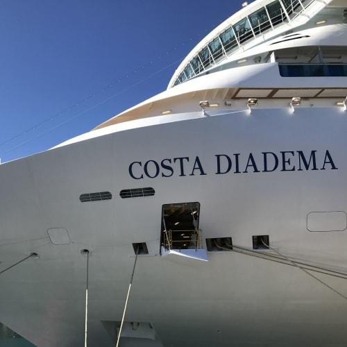 客船コスタ・ディアデマの外観