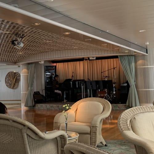 客船飛鳥2の船内施設