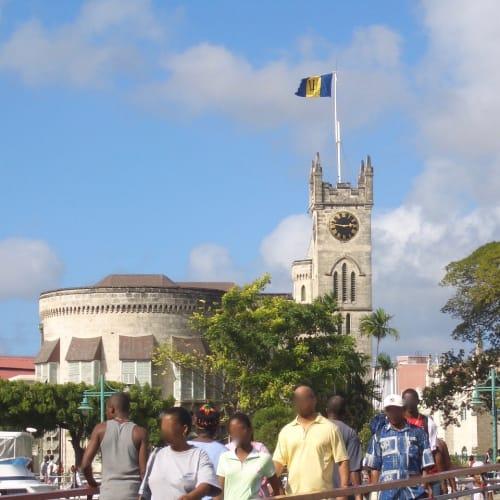Barbadosの街、ブリッジタウンです。 | ブリッジタウン