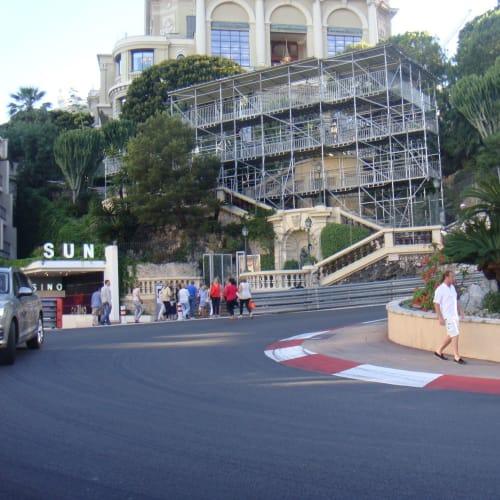 モンテカルロ、F1レースのヘアピンカーブ。 | モンテカルロ